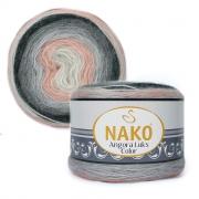 Пряжа Nako Angora luks color (150г.) 81916
