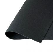 Фетр Корея жесткий 33х53 см 1.2 мм черный