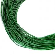 Канитель жесткая 1мм Dark green (1метр) 0124