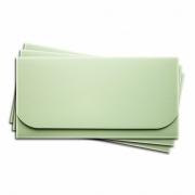 Заготовка для конверта №6 светло-зеленый матовый