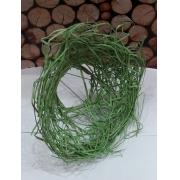 Каркас для букета(ротанг), зеленый, d=20см