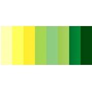 """Полоски для квиллинга """"Желто-зеленый микс"""" В 08-03-200 (3 мм 200 шт.)"""