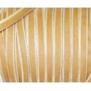 Лента бархатная 12 мм св.бежевый 118 (1 м)