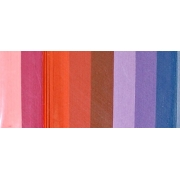 """Полоски для квиллинга """"Сиренево-красный микс"""" В 08-03-200 (3 мм 200 шт.)"""