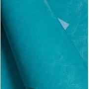 Кожа искусственная  22х30 см, голубой (1 лист)