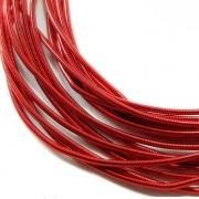 Канитель мягкая 1мм Scarlet red 079 (5грамм)