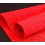 Гофрированная бумага №580 0.5х2.5м Красная (Италия)