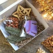 """Подарочный набор в коробке """"Зимний1"""""""