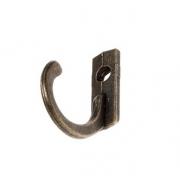 Декоративный крючок C-115 18х8х21мм, бронза (2шт.)