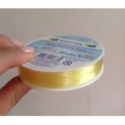 Эластичная нить DN-1 1 мм №05 т.лимон (18 метров)