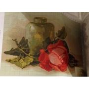 """Схема для вышивки """"Роза натюрморт"""""""