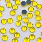 Термоклеевые стразы Zlatka RS SS20 4.7 мм желтый (144 шт.)