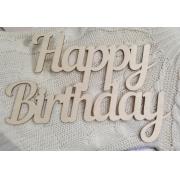 """Слово """"Happy birthday"""" (длина40см)"""