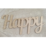 """Слово """"Happy"""" (длина40см)"""
