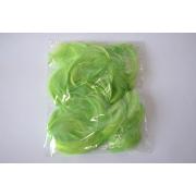 Перья 9см 12гр. салатовые