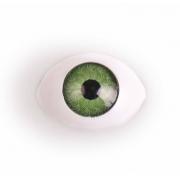 Глазки пластик 11 мм Зеленые (пара)