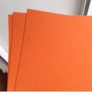 Бумага The kiss А4 300г/м2 ярко-оранжевый (2листа)