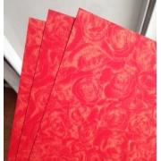 Бумага Royal Rose А4 300г/м2 Красный (2листа)