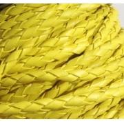 Шнур плетеный 4 мм (желтый)