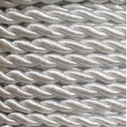 Шнур витой декоративный 4 мм GC-043c №001 (2метра)