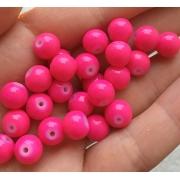 Керамика розовый 8мм (4шт.)