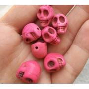 Говлит розовый череп (3шт.)
