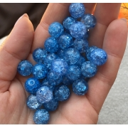 Битый кварц синий 10мм (4шт.)