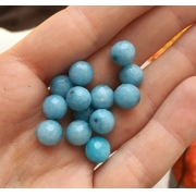 Агат голубой 8мм (4шт.)