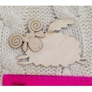 Декоративный элемент Летающая овечка