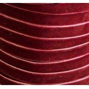Лента бархатная VR-06 6 мм бордовый 048 (1м)