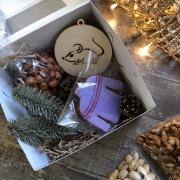 """Подарочный набор в коробке """"Зимний2"""""""