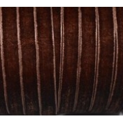Лента бархатная VR-06 6 мм коричневый100 (1метр)