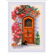 """Набор для вышивания Riolis """"Дверь в Шотландию"""" 1832 21 х 30 см"""