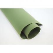 Фоамиран шелковый 1 мм 50х50см зеленый мох