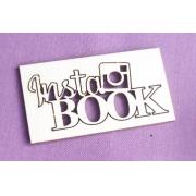 "Вырубка ""Insta book"" 5х2.4см"