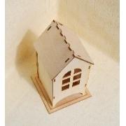Чайный домик сборный с окошком 24х9х9см