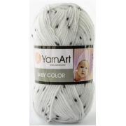 Пряжа YarnArt Baby Color 273 далматинец