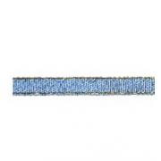 Лента металлизированная парчовая MRC-06 6мм (3метра) 094 василек
