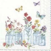 Бумага тишью 50х70см Нежно-розовая (10листов)