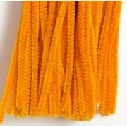 Проволока  синельная 30 см оранжевый, 50 шт