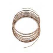 Проволока для плетения 2 мм св. коричневый №3 SF-906, 3 метра