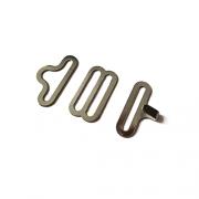 Застежка металл для галстуков-бабочек ZBG 18 мм (2 комплекта)