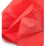 Тишью бумага 50х66см Красный (2 листа)