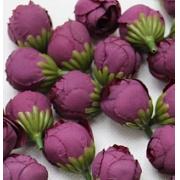 """Бутон цветов """"Пион"""" 2,5 см  темно-сиреневый, 2 шт"""