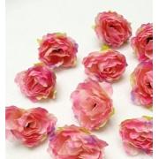 """Бутон цветов """"Роза чайная"""" 3 см  розовый/фиолетовый, 2 шт"""