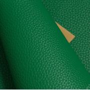 Кожа искусственная зернистая матовая  22х30 см, зеленый (1 лист)