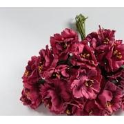 Бутон цветов на веточке малиновый, 2 шт.