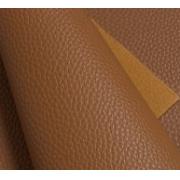 Кожа искусственная зернистая матовая  22х30 см, коричневый (1 лист)