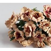 Бутон цветов на веточке  слоновая кость, 2 шт.