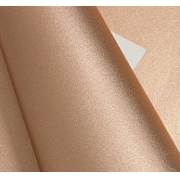 Кожа искусственная перламутровая 22х30 см, розовое золото (1 лист)